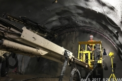 20170405 Tunnel (5) Spile Drilling