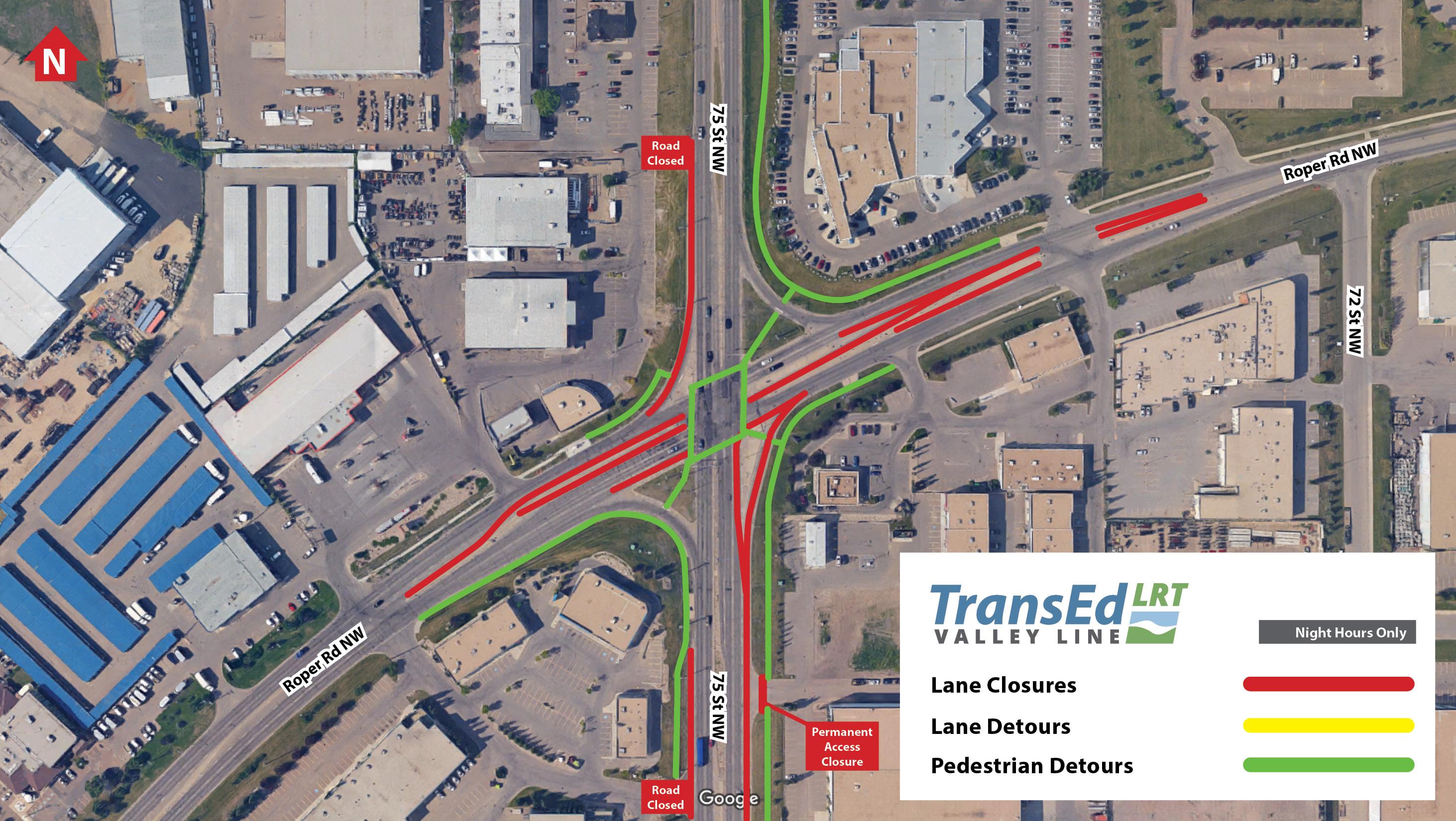 Street Between Wagner Road And Whitemud Drive Lane Closures - I drive us closure map